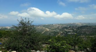Land for Sale Kfoun ( Sarhit ) Jbeil Area 1340Sqm