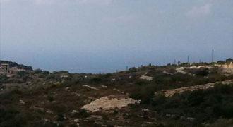 Land for Sale Gharzouz Jbeil Area 2328Sqm