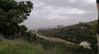 Land for Sale Fidar ( Halat ) Jbeil Area 1004Sqm